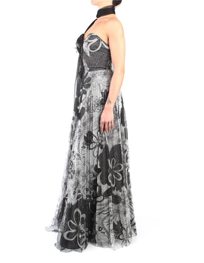 Impero Dress Black / Gray