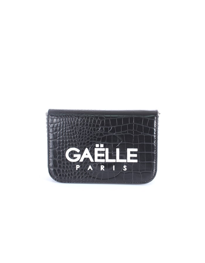 Gaelle Paris Shoulder straps & Messenger Black