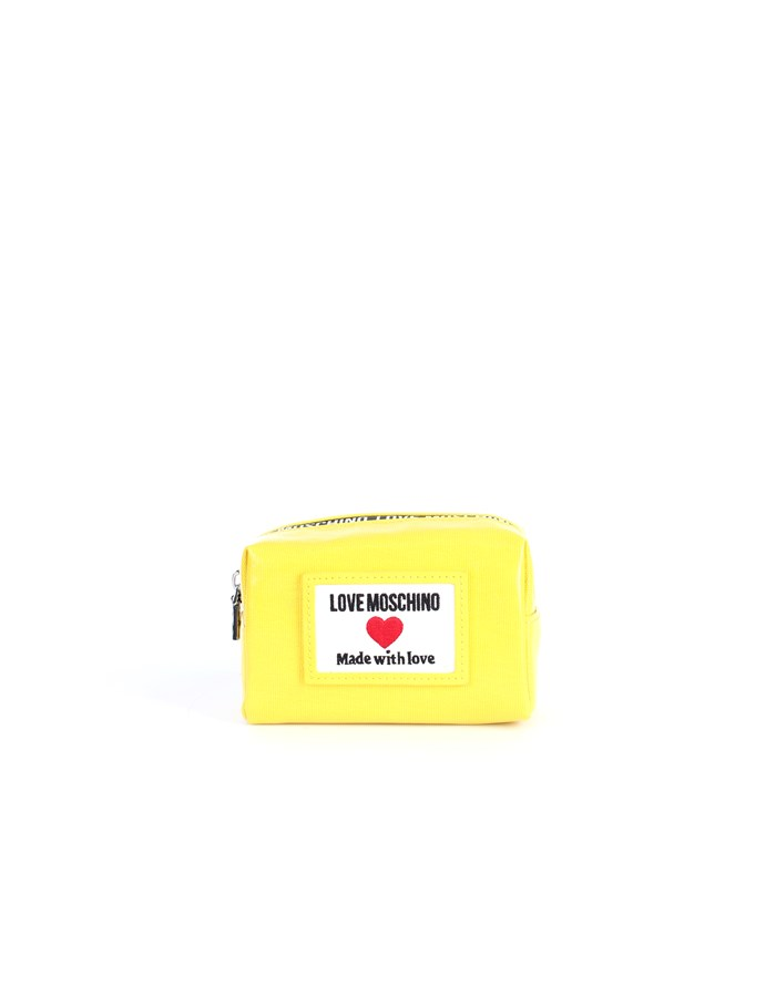 Love Moschino Accessori Beauty bags Yellow