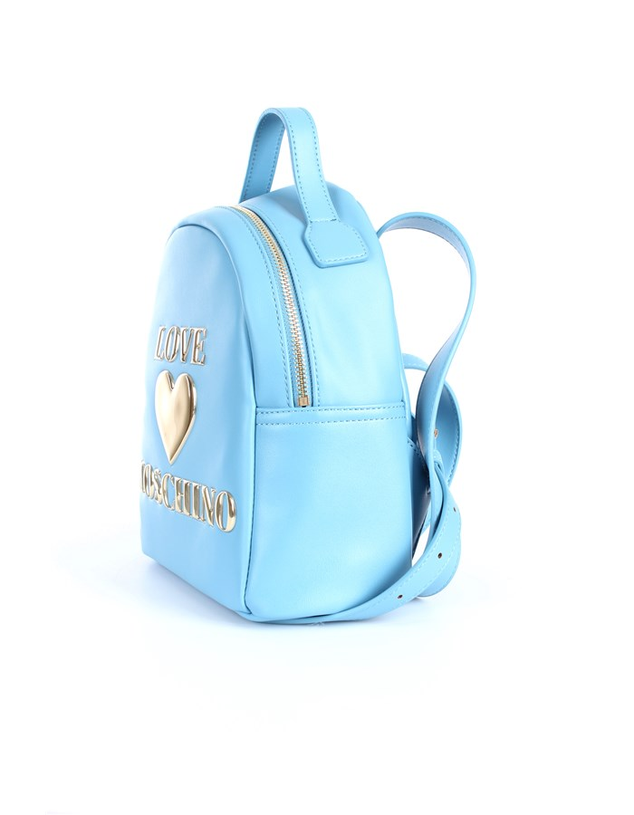 Love Moschino Accessori Backpacks Light blue