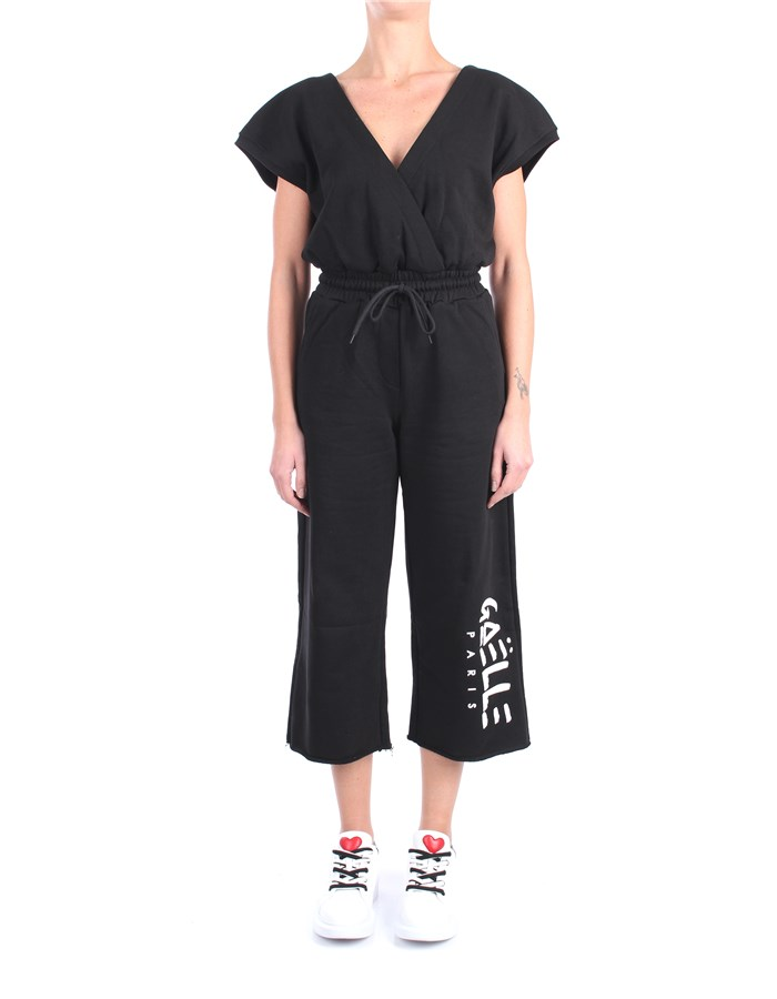 Gaelle Paris Dungarees Black
