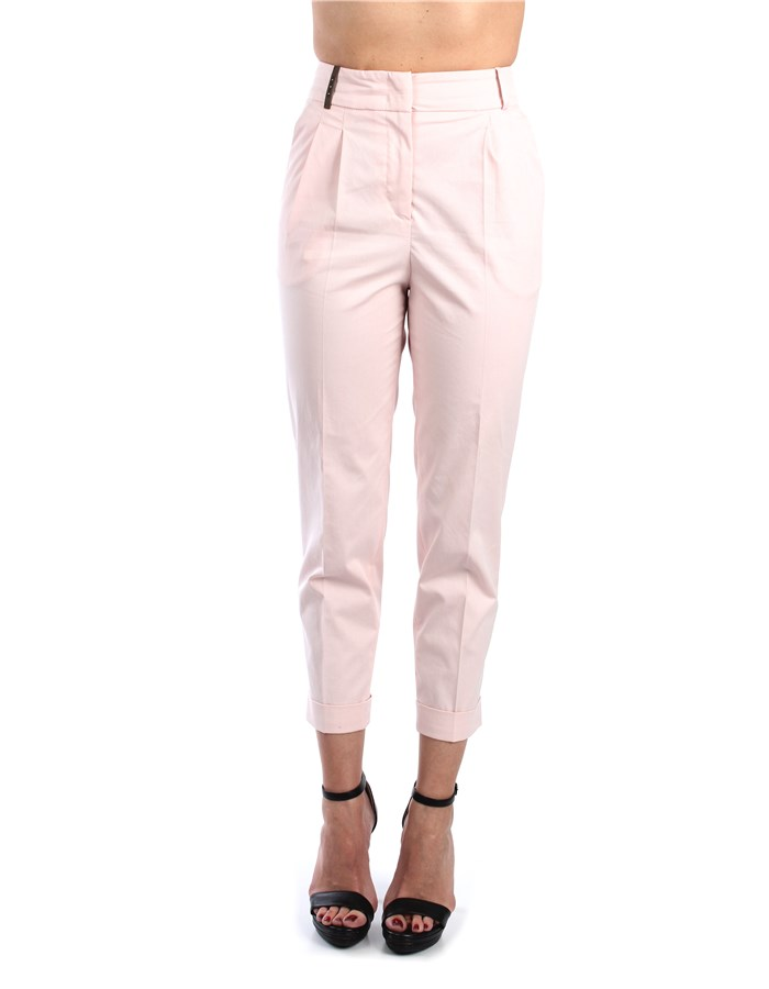 Peserico Trousers Rose