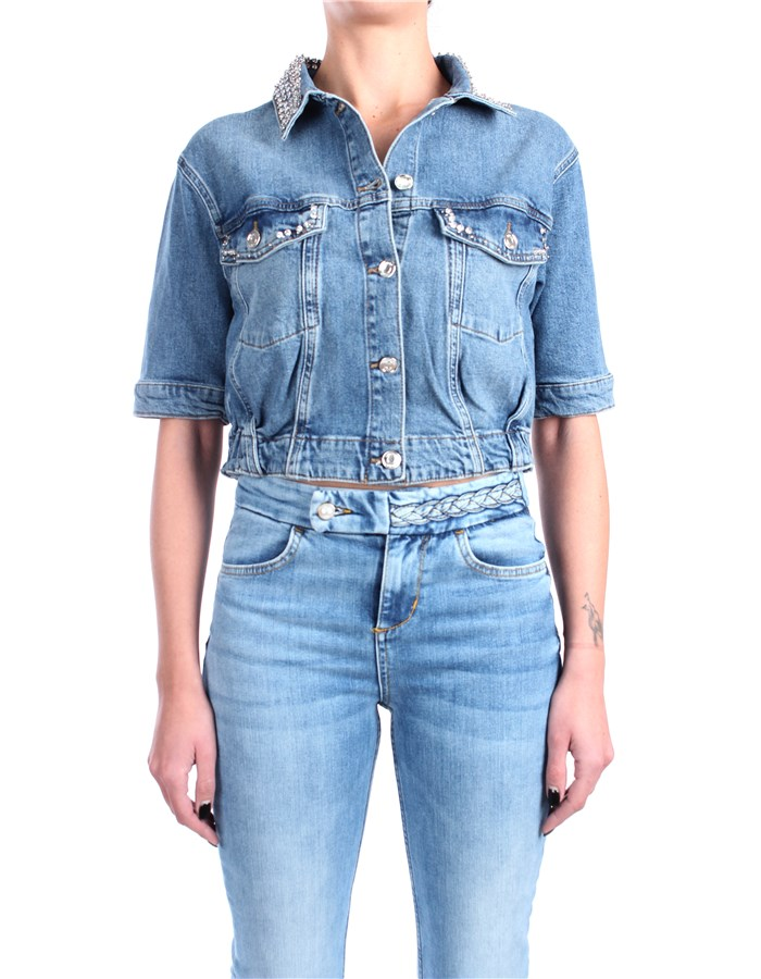 Liu Jo Denim Short jackets Denim