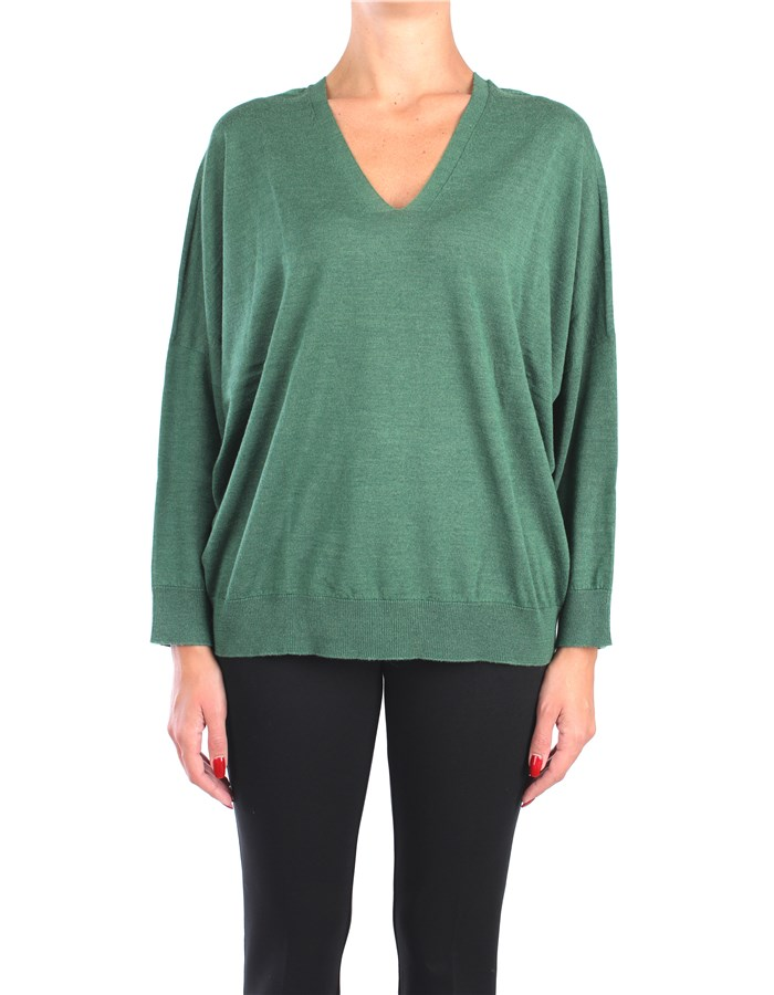 Peserico V-neck Green