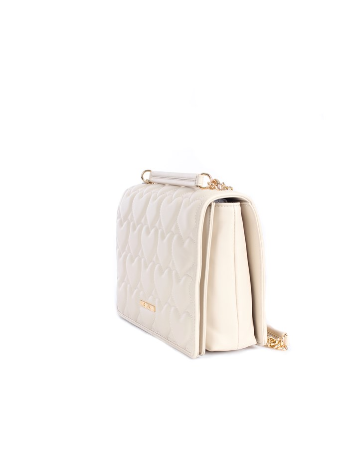 Love Moschino Accessori Shoulder straps & Messenger Ivory