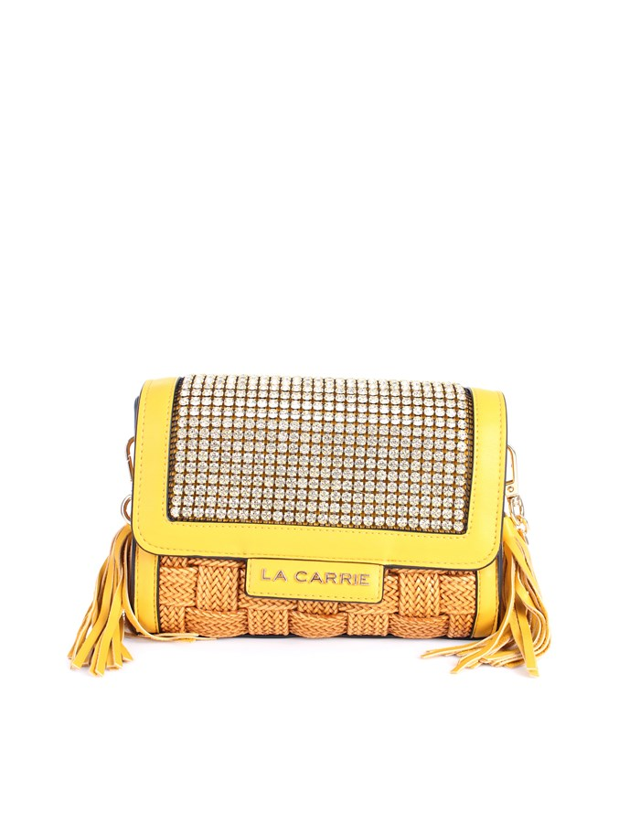 La Carrie Shoulder straps & Messenger Yellow