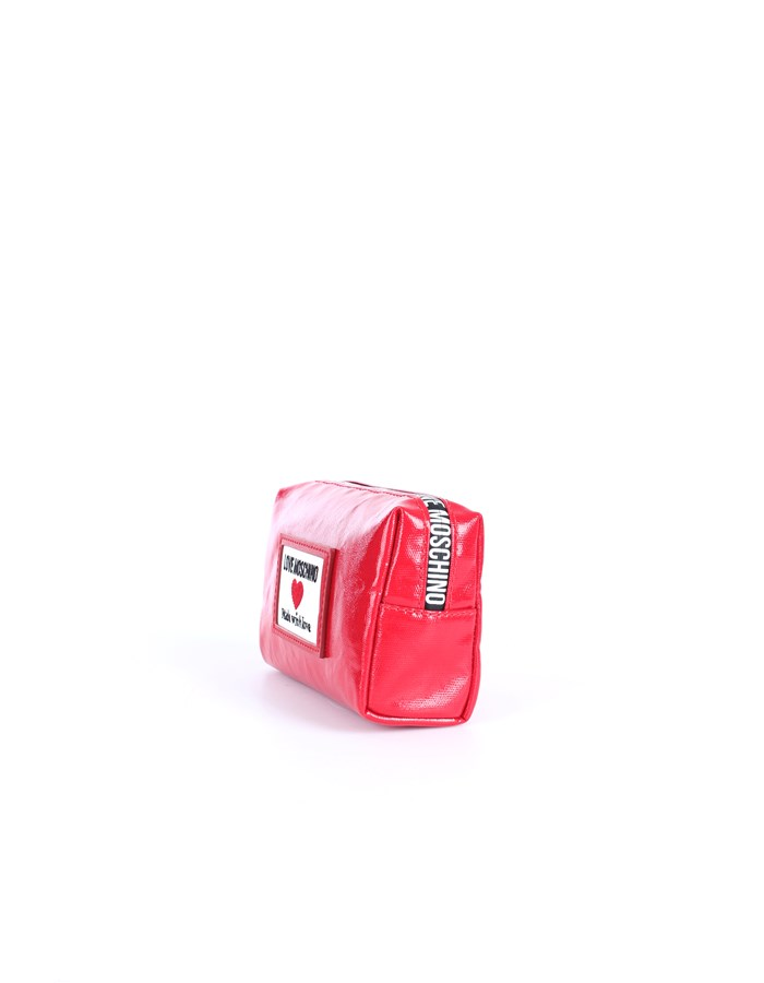Love Moschino Accessori Beauty bags Red