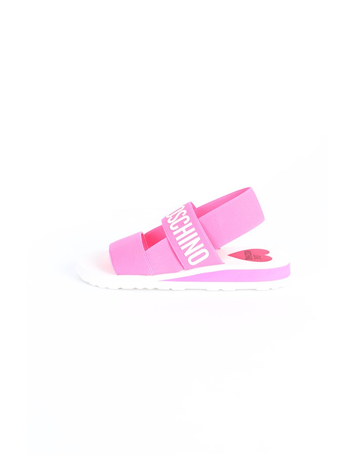 Love Moschino Shoes Slipper fuchsia