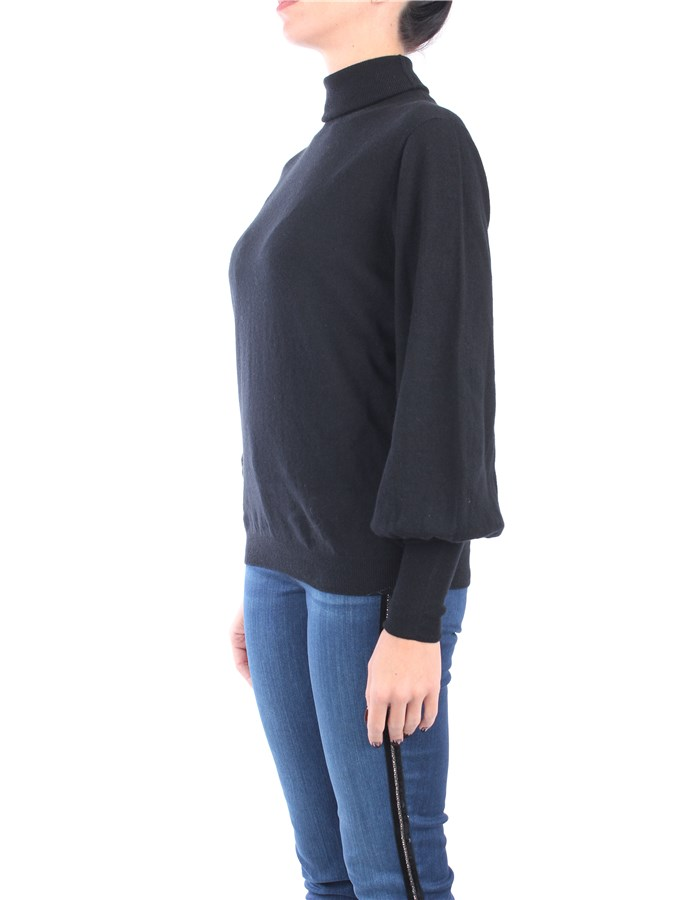 Liviana Conti Polo neck Black