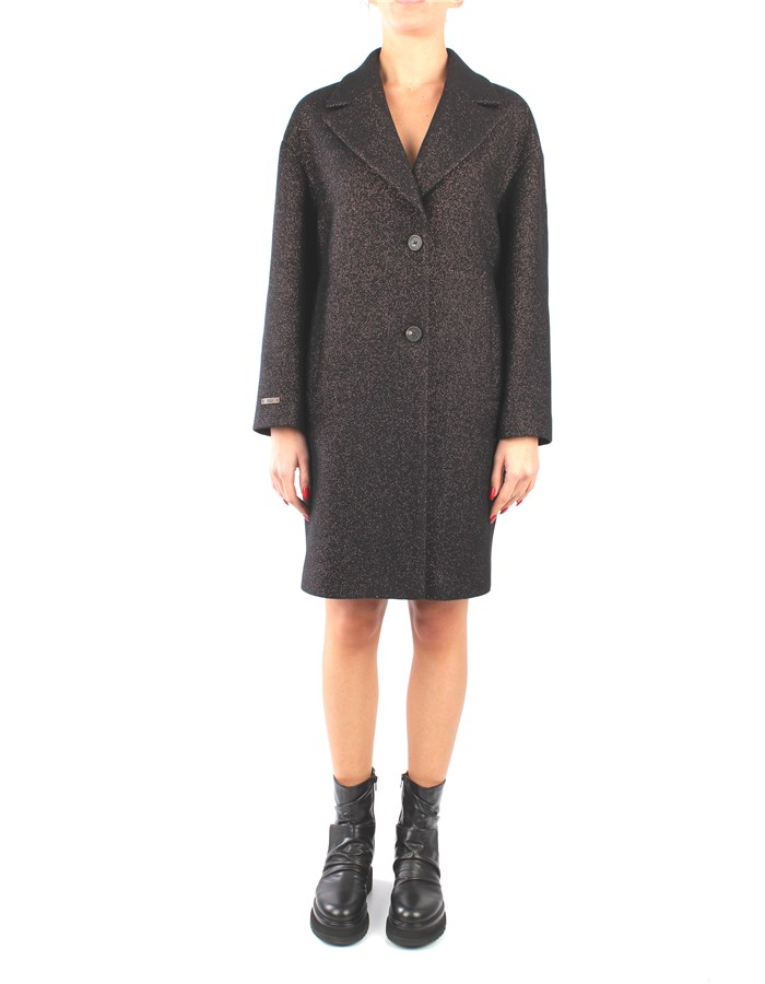 Peserico Coat Black