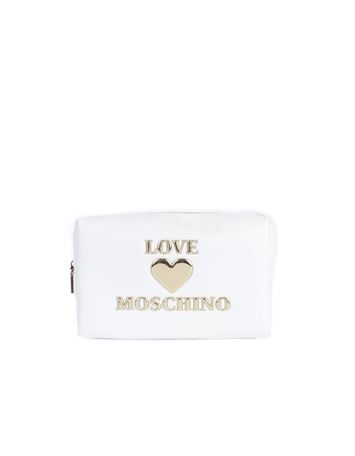 Love Moschino Accessori Beauty bags White
