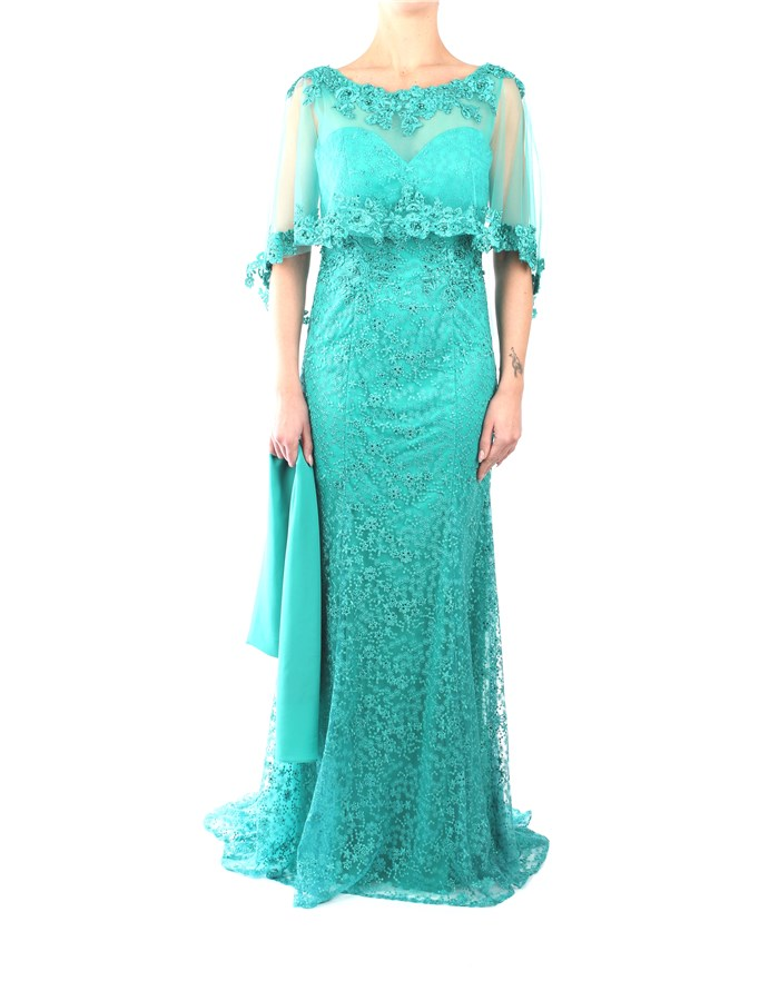 Impero Dress Emerald