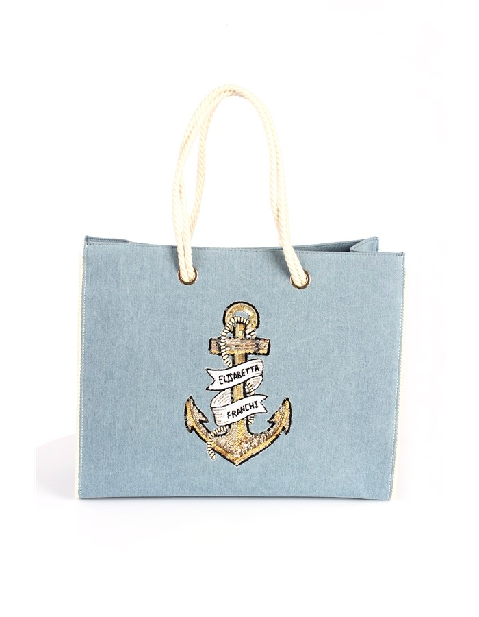 Elisabetta Franchi Hand Bags Light blue