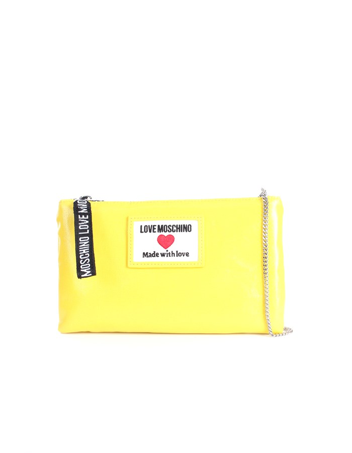 Love Moschino Accessori Clutch Yellow