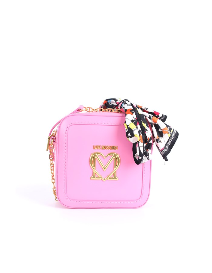 Love Moschino Accessori Shoulder straps & Messenger Rose