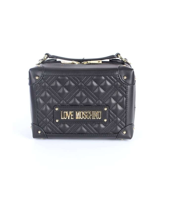 Love Moschino Accessori Shoulder straps & Messenger Black