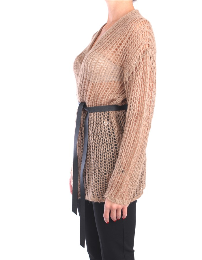 Peserico Cardigan Brown