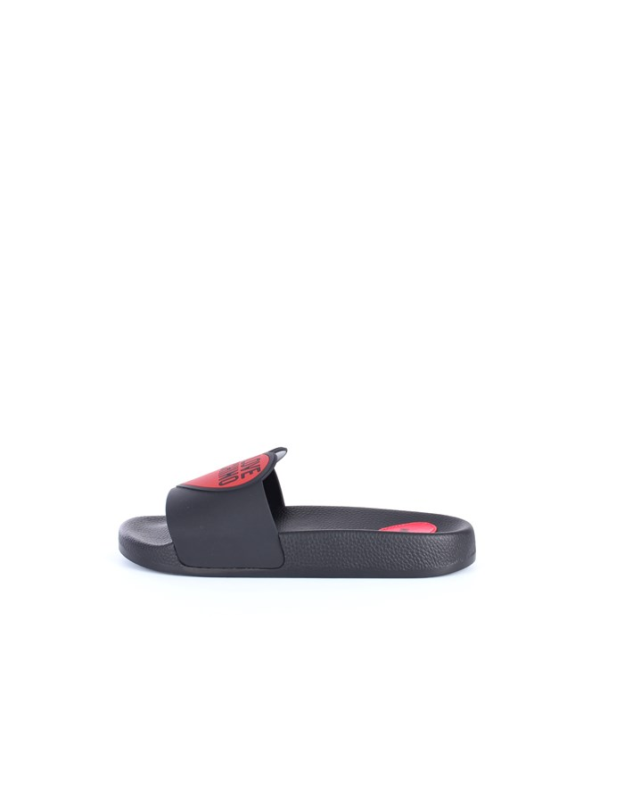 Love Moschino Shoes Slipper Black